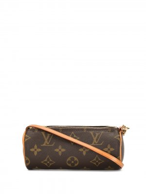 Мини-сумка Papillon pre-owned Louis Vuitton. Цвет: коричневый