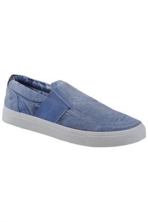 Слипоны Hammer Jack. Цвет: синий джинс