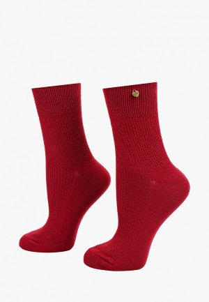 Носки Twinset Milano. Цвет: бордовый