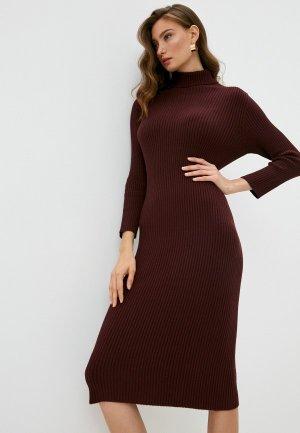 Платье Pietro Brunelli Maternity. Цвет: бордовый
