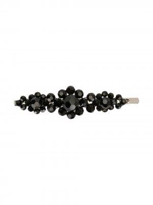 Декорированная заколка для волос Simone Rocha. Цвет: черный