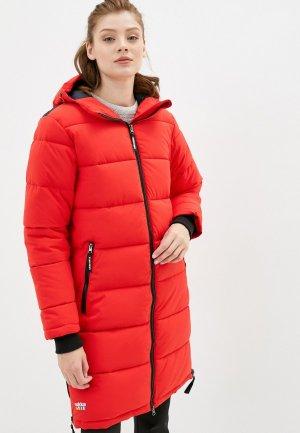Куртка утепленная Rukka. Цвет: красный