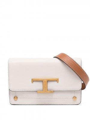 Tods поясная сумка T Timeless Tod's. Цвет: коричневый