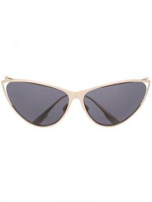 Солнцезащитные очки New Motard Dior Eyewear. Цвет: золотистый