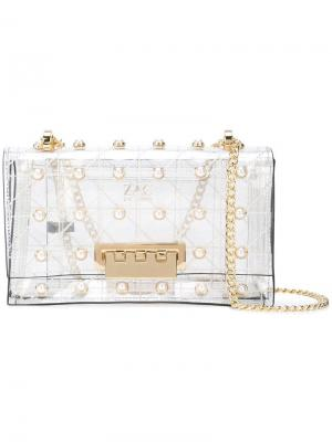 Earthette Quilted Pearl Lady shoulder bag Zac Posen. Цвет: белый