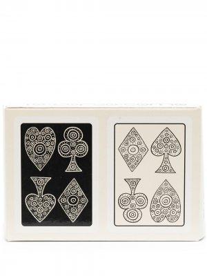 Игральные карты с логотипом 10 CORSO COMO. Цвет: нейтральные цвета