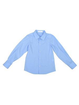 Рубашка Born. Цвет: синий