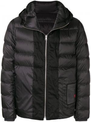 Padded hooded jacket Ten C. Цвет: черный