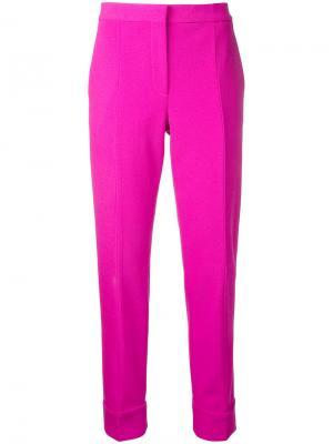 Укороченные брюки Narciso Rodriguez. Цвет: розовый