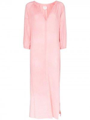 Платье миди Bianca Honorine. Цвет: розовый