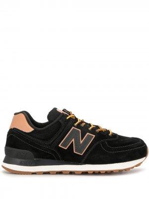 Кроссовки ML574 New Balance. Цвет: черный