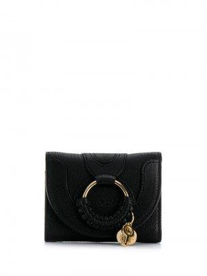 Компактный кошелек Hana See by Chloé. Цвет: черный