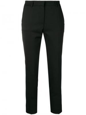 Укороченные брюки Mauro Grifoni. Цвет: черный