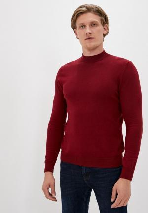 Джемпер Burton Menswear London. Цвет: бордовый
