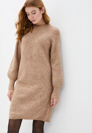 Платье Y.A.S. Цвет: бежевый
