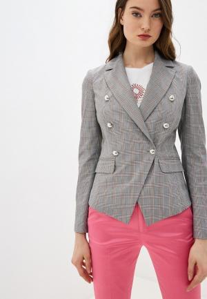 Пиджак Liu Jo. Цвет: серый