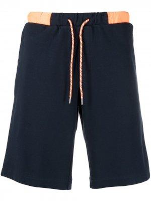 Спортивные шорты в двух тонах Sun 68. Цвет: синий