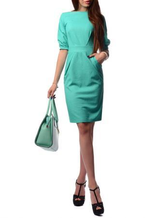 Платье FRANCESCA LUCINI. Цвет: светло-зеленый