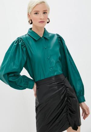 Рубашка Pimkie. Цвет: бирюзовый