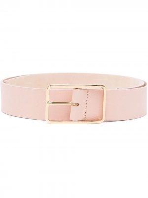 Ремень с прямоугольной пряжкой B-Low The Belt. Цвет: розовый