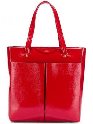 Nevis tote bag Anya Hindmarch. Цвет: красный