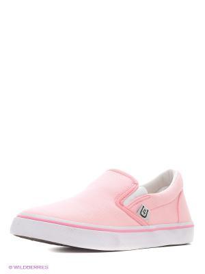 Слипоны 4U. Цвет: бледно-розовый, розовый