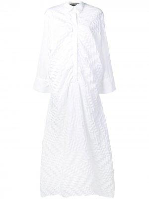 Платье трапеция Penhale Roland Mouret. Цвет: белый