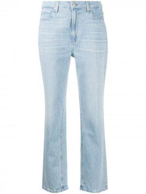 Прямые джинсы свободного кроя PAIGE. Цвет: синий