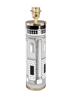Основание для лампы с принтом Fornasetti. Цвет: черный