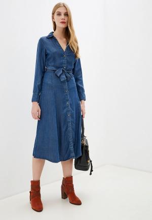Платье джинсовое OVS. Цвет: синий