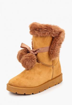 Полусапоги Max Shoes. Цвет: коричневый