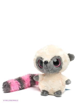 Мягкая игрушка Юху AURORA. Цвет: молочный, серый