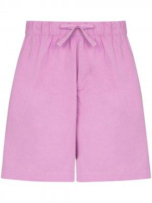 Пижамные шорты TEKLA. Цвет: фиолетовый