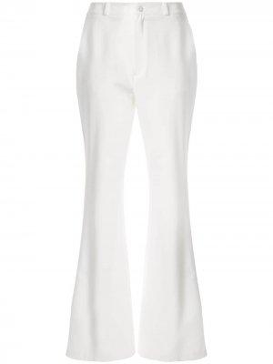 Расклешенные брюки Nelson Cynthia Rowley. Цвет: белый