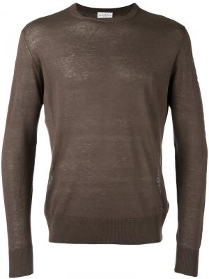 Пуловер Maglia Ballantyne. Цвет: коричневый