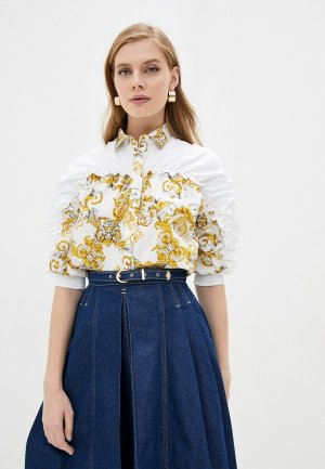 Рубашка Versace Jeans Couture. Цвет: белый