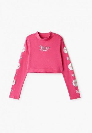 Лонгслив Juicy Couture. Цвет: розовый