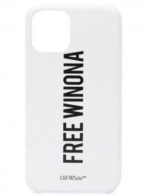Чехол Free Winona для iPhone 11 Pro Off-White. Цвет: белый