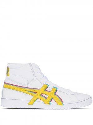 Высокие кроссовки Gel-PTG MT ASICS. Цвет: белый