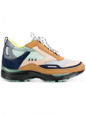 Кроссовки на шнуровке Suecomma Bonnie. Цвет: нейтральные цвета
