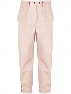 Укороченные брюки с завышенной талией IRO. Цвет: розовый