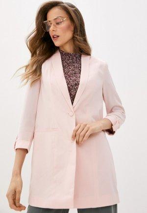 Пиджак Vero Moda. Цвет: розовый