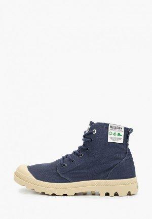 Ботинки Palladium. Цвет: синий