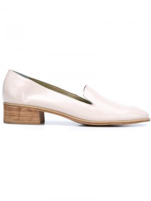 Туфли с заостренным носком Rachel Comey. Цвет: телесный