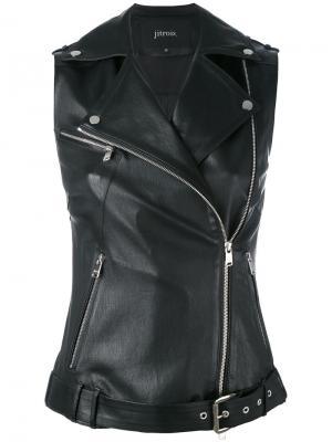 Куртка без рукавов Rider Jitrois. Цвет: белый