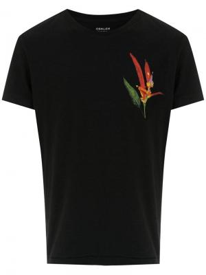 Printed t-shirt Osklen. Цвет: черный