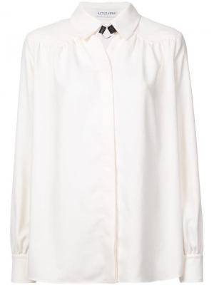 Рубашка Tamar Altuzarra. Цвет: белый