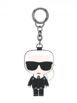 Брелок K/Ikonik Karl Lagerfeld. Цвет: черный