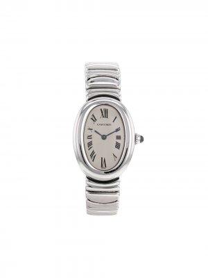 Наручные часы Baignoire pre-owned 22 мм 2000-х годов Cartier. Цвет: серебристый