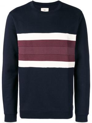 Stripe detail sweater Folk. Цвет: синий
